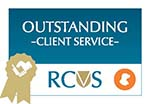 Macqueen RCVS Award Outstanding client service