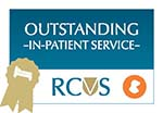 Macqueen RCVS Award Outstanding In-patient service