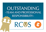 Macqueen RCVS Award Outstanding Team + Professional Responsibility