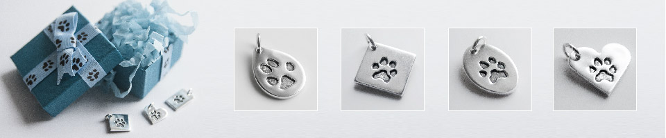 Petite Paw Prints - casting & engraving service