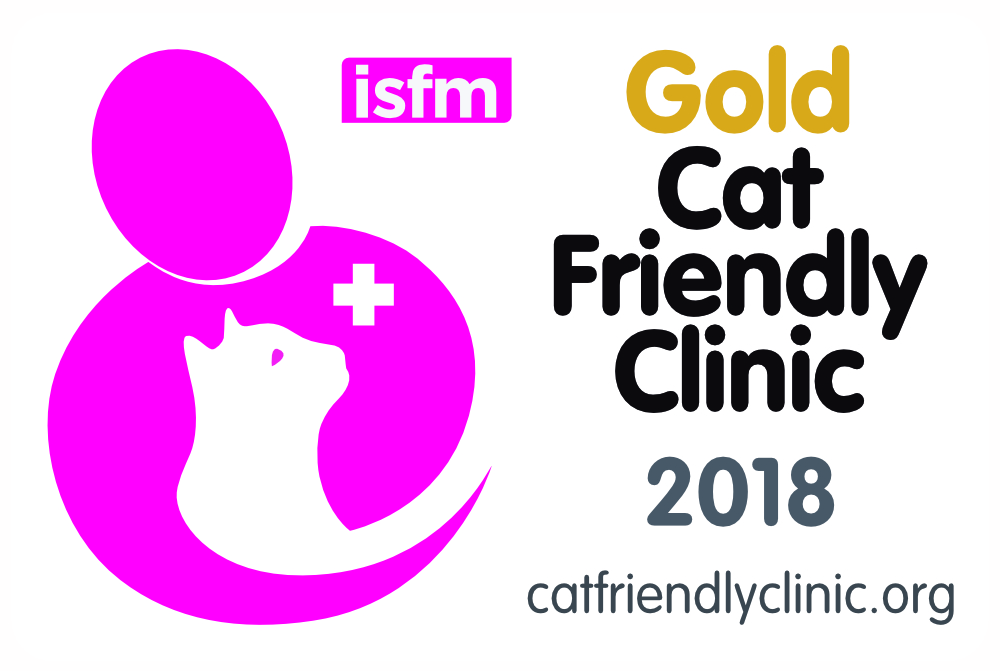 Cat Friendly Clinic Gold